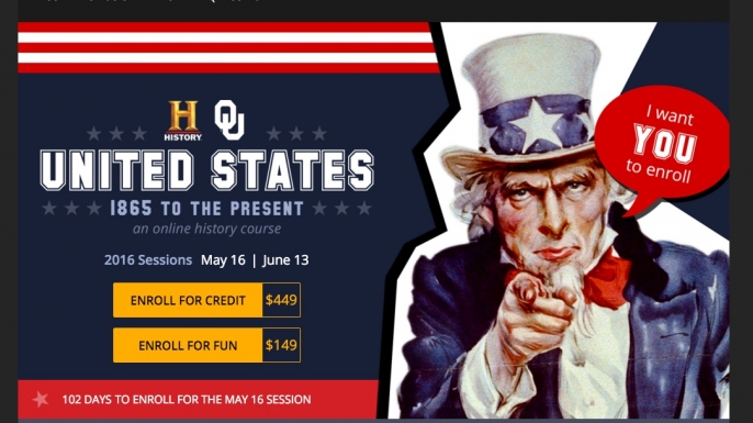 History Channel Online Course - Lincoln Assassination