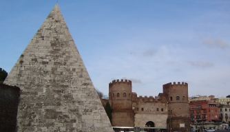2,000-Year-Old Roman Pyramid Gets a Makeover