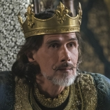 Lothaire Bluteau as Emperor Charles, Vikings