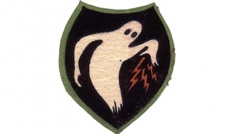 Ghost Army insignia patch. (Credit: Pubilc Domain/U.S. Department of Defense)