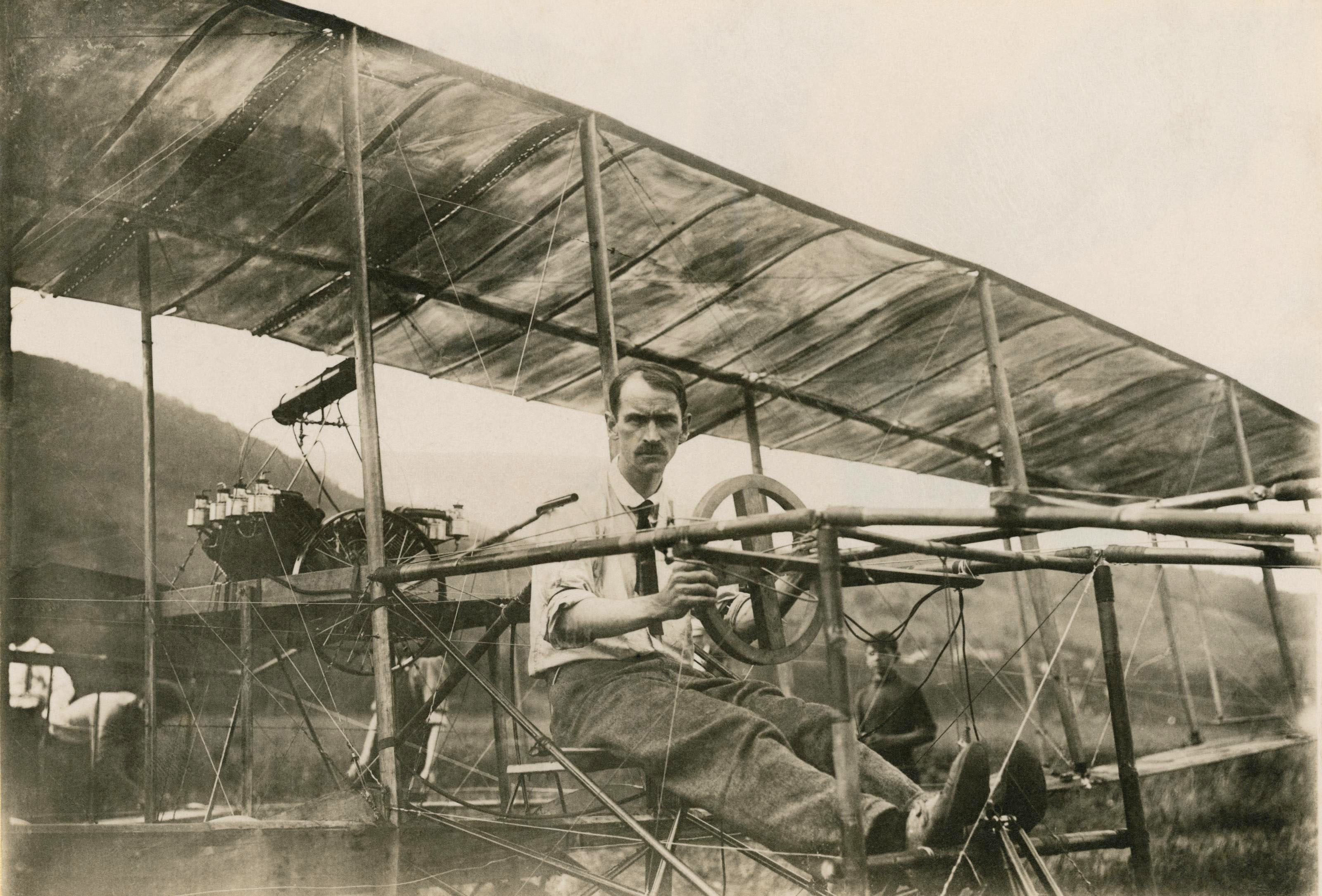 6 little known pioneers of aviation history lists for Airplane plans