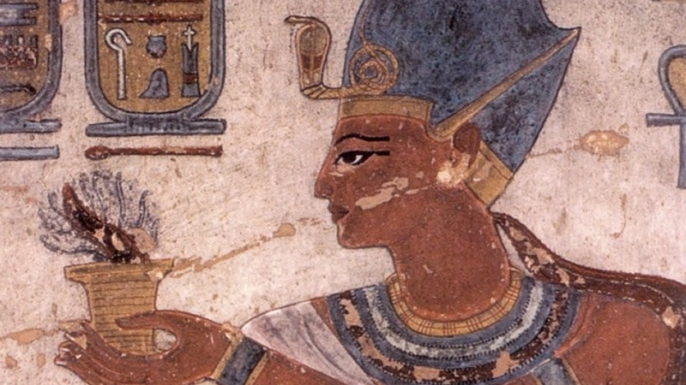 Ramses III brings an incense sacrifice. (Credit: Public Domain)