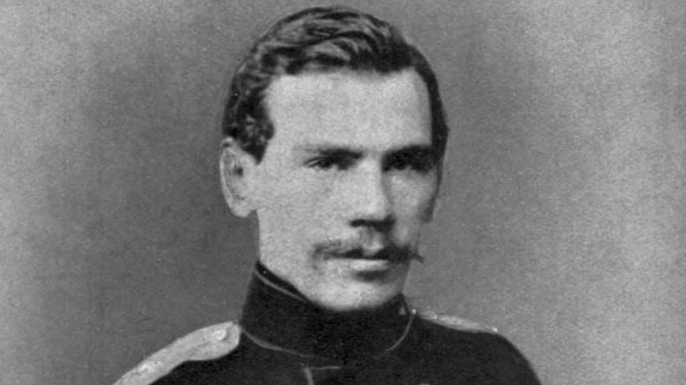 Leo Tolstoy, 1856. (Credit: Public Domain)