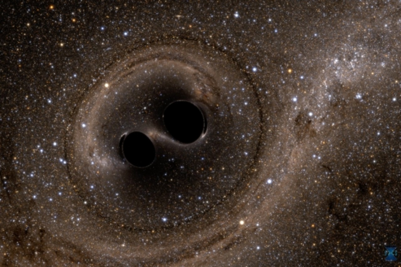 two black holes collide - photo #22
