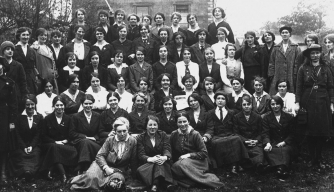 Cumann na mBan, who fought in the Easter Rising 1916