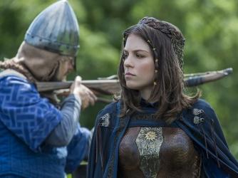 Morgane Polanski as Princess Gisla, Vikings