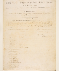 13th Amendment.  (Credit: Sotheby's)