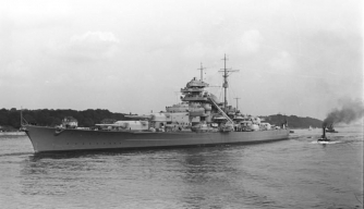 Bismarck. (Credit: German Federal Archives)