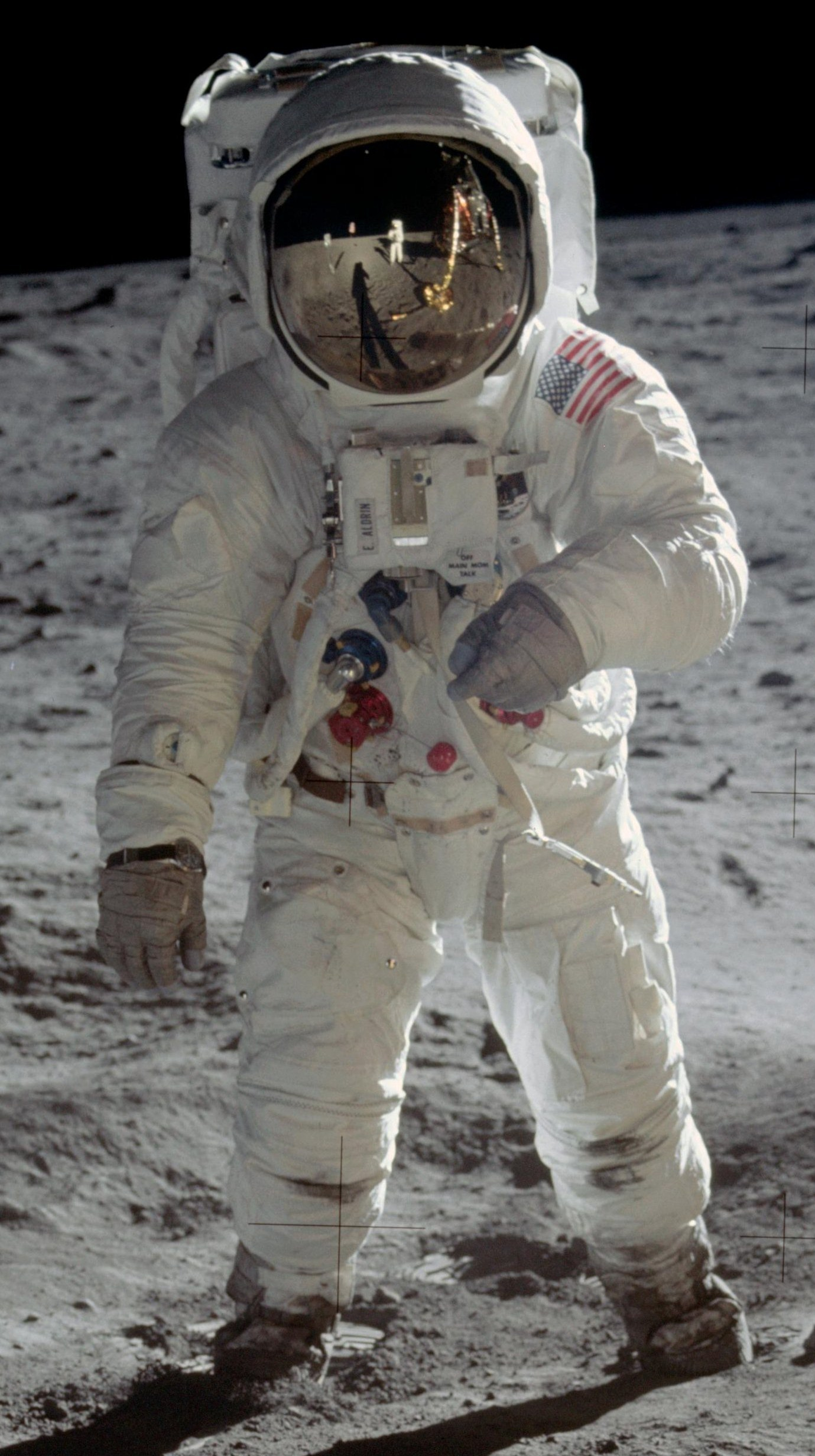 astronaut neil armstrong on uniform - photo #1