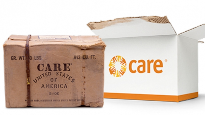CARE packages. (Credit: CARE)