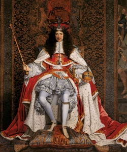 King Charles II of England in Coronation robes. (Credit: Public Domain)