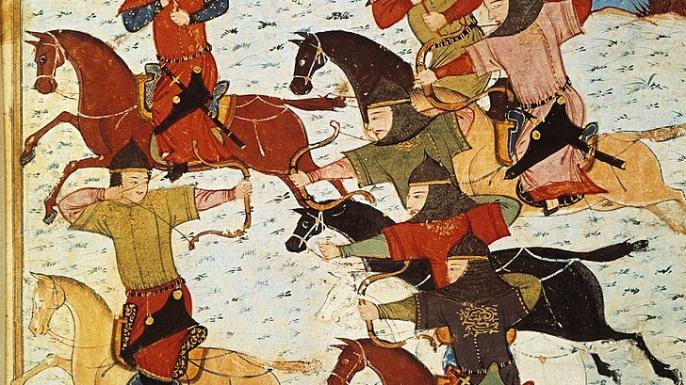 barbarians, recurve bows, huns