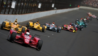 Indianapolis 500-mile race at Indianapolis Motorspeedway.  (Credit: Chris Graythen/Getty Images)