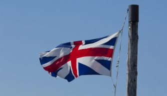 King's Colors or 'Union Jack' British flag of 1606. (Credit: Danita Delimont/Getty Images)