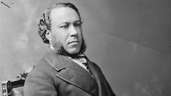 Joseph Rainey. (Credit: Public Domain)