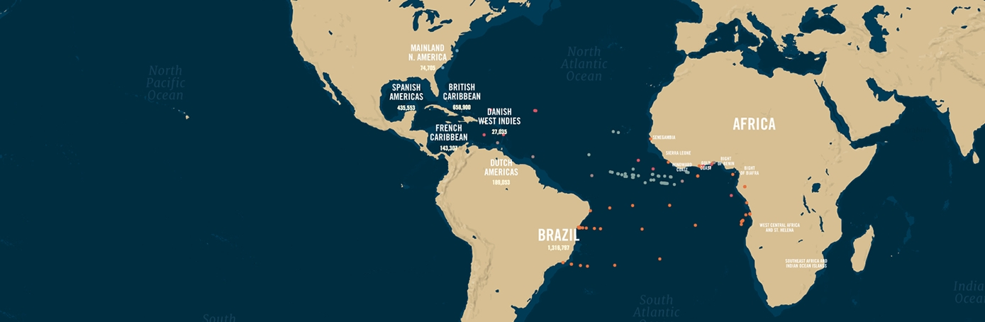 Mapping  Slave Voyages