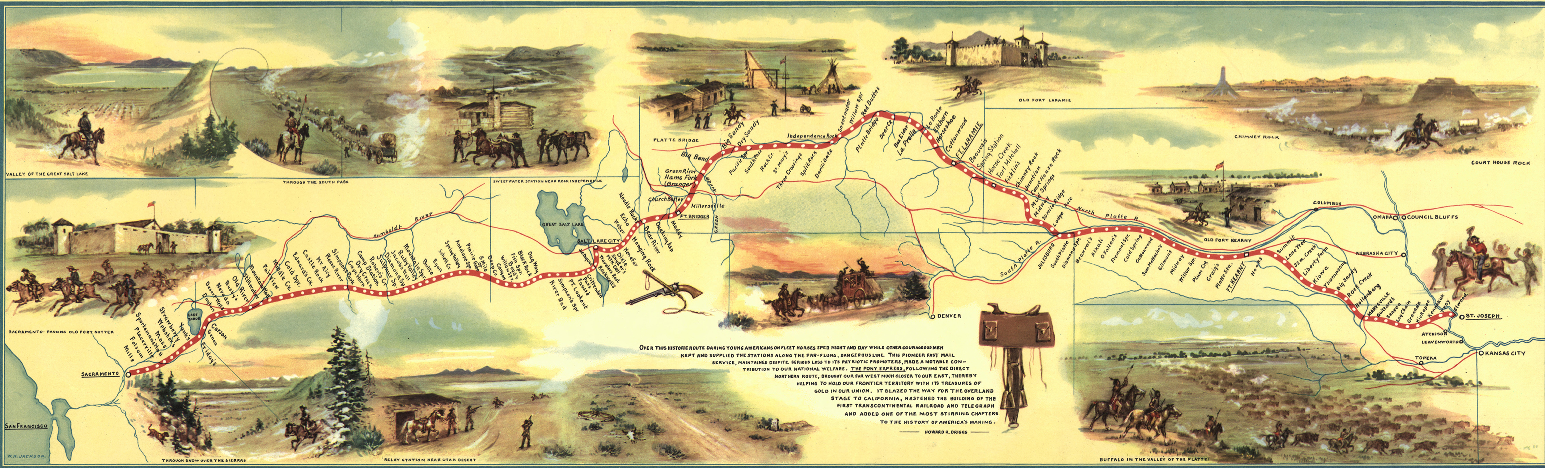 10 things you may not know about the pony express history lists