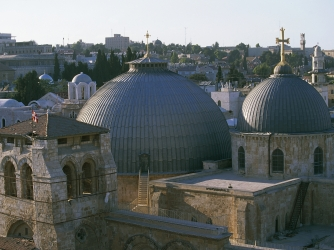 Basilica of the Holy Sepulchre. (Credit: De Agostini/Getty Images)
