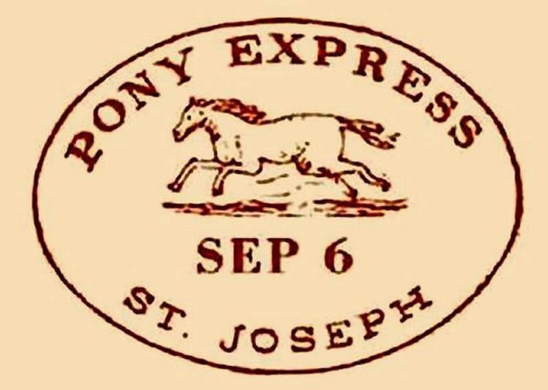the history of pony express From blizzards to wolves to 24-hour shifts, intrepid pony express  during its  brief nineteen-month history, its riders carried 35,000 letters.