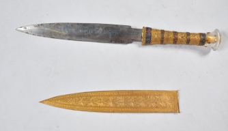 Researchers Say King Tut's Dagger Was Made From a Meteorite
