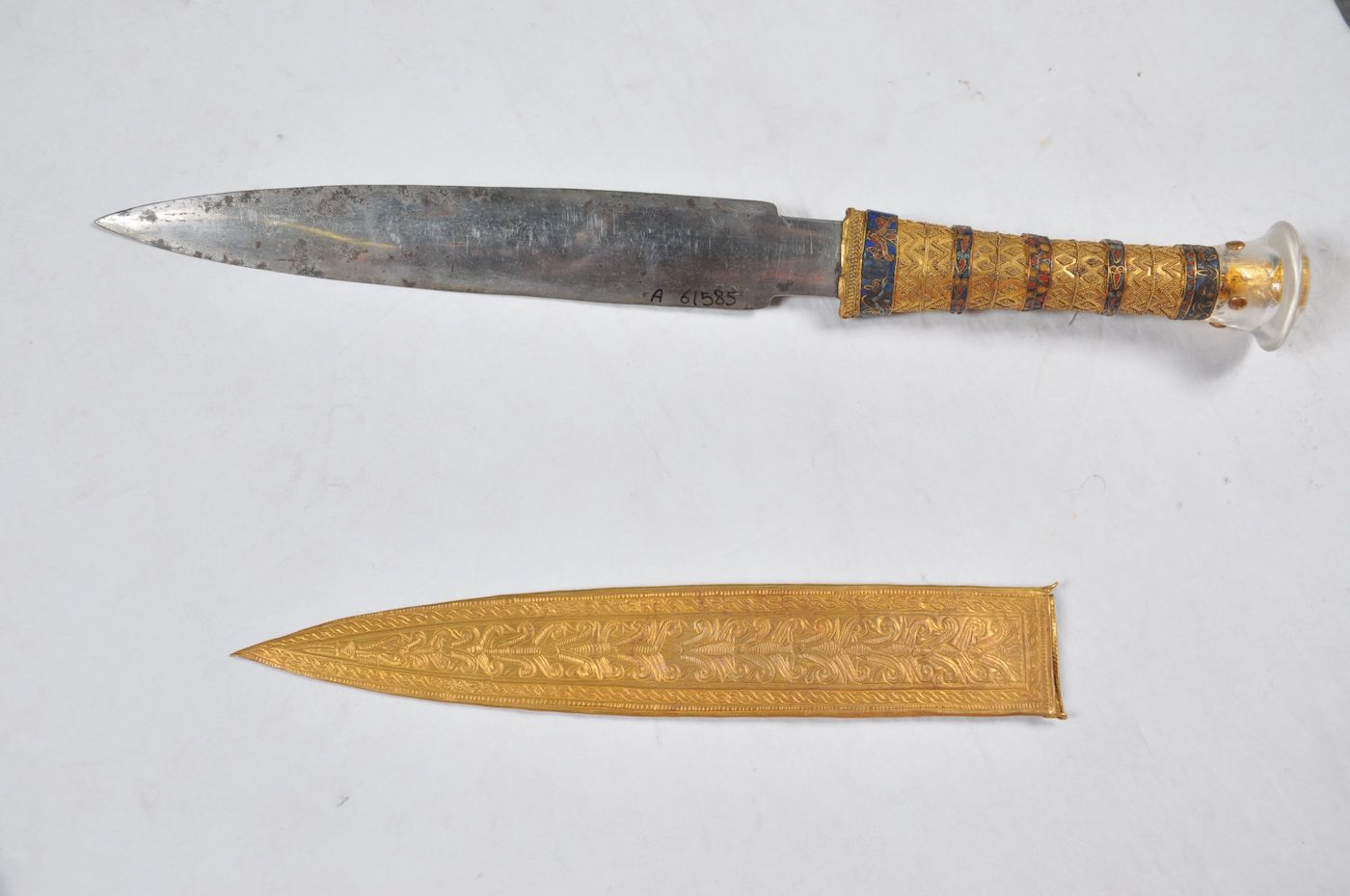 King Tut s Dagger Came from Space  Discover Researchers   Big Think Pinterest king tut research paper boehm faience