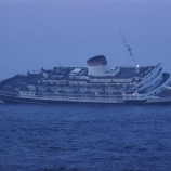 Andrea Doria in waters off Nantucket.  (Credit: Loomis Dean/The LIFE Picture Collection/Getty Images)