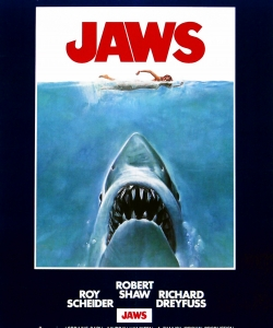 "1975 ""Jaws"" movie poster"