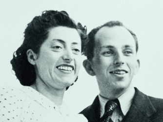 Lucie and Raymond Aubrac.