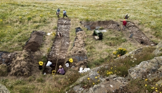 Possible 6th-Century Palace Found at Site Linked to King Arthur