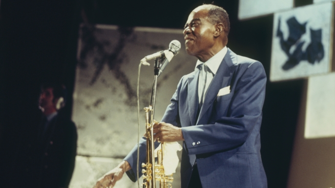 Louis Armstrong in November 1970. (Credit: David Redfern/Redferns)
