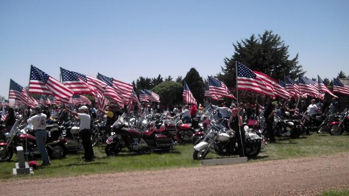 Patriot Guard Riders. (Credit: Public Domain)