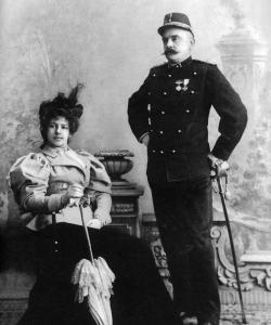 Mata Hari and her husband Rudolph.