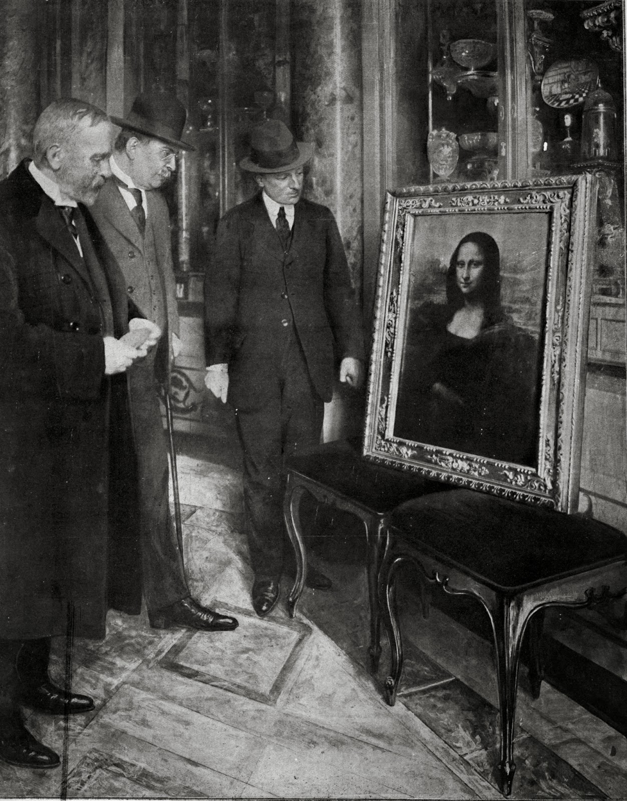 Today in history... stolen Mona Lisa found after two years