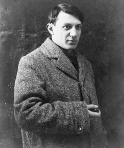 Pablo Picasso, c. 1908.