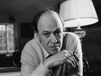 Roald Dahl December, 11, 1971. (Credit: Ronald Dumont / Getty Images)