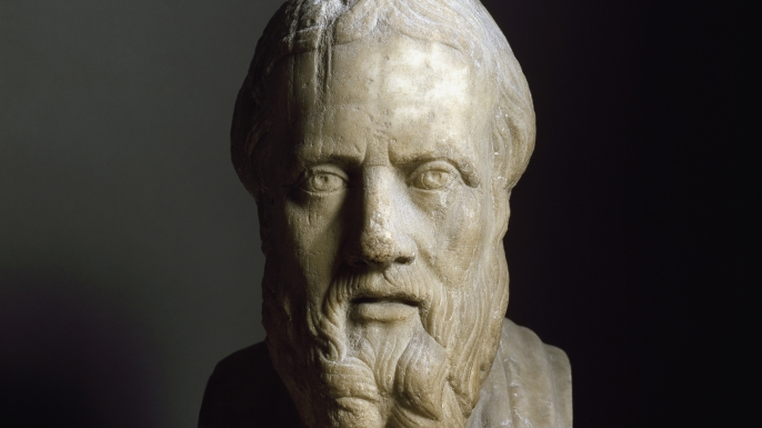 Bust of Herodotus. (Credit: Leemage/Corbis / Getty Images)