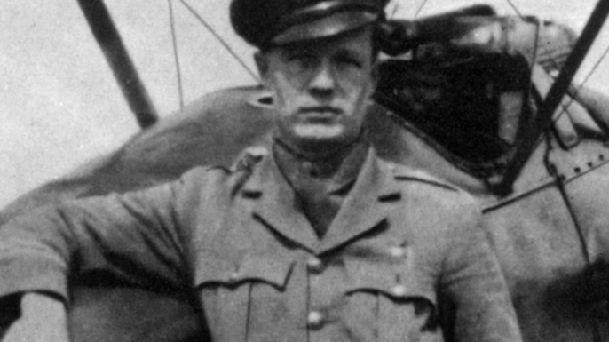 Canadian Captain Arthur Roy Brown, whom the Royal Air Force officially credited with shooting down Manfred von Richthofen in 1918. (