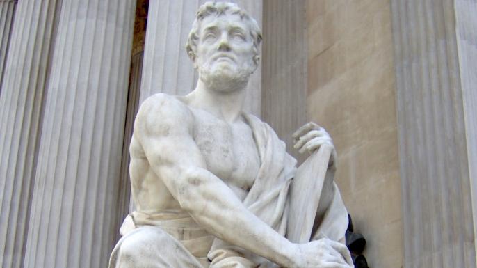 Tacitus, senator and a historian of the Roman Empire. (Credit: Public Domain)
