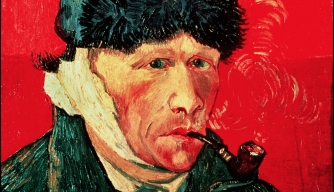 Van Gogh self portrait after the loss of his ear.