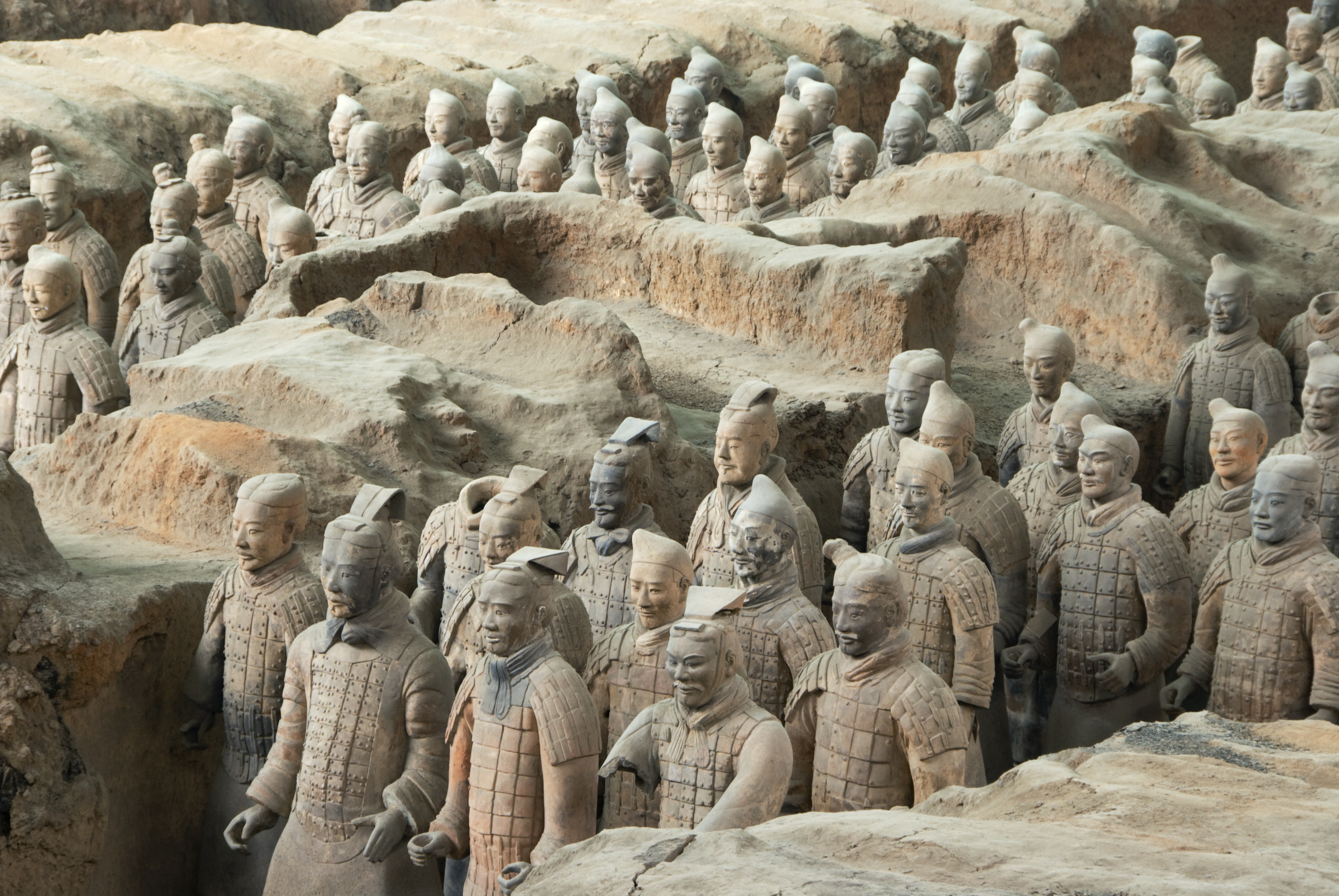 terra cotta soldiers of the qin