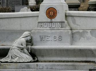 Houdini's grave.
