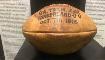 Cumberland football. (Credit: SCP Auctions)