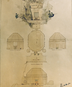Plans for the Hall of Records. (Credit: Mount Rushmore National Memorial)