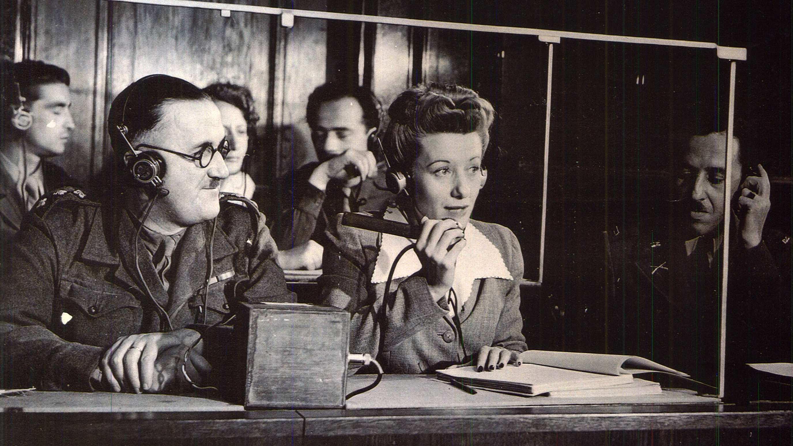 10 things you not know about the nuremberg trials lists interpreters providing simultaneous translations at the trials
