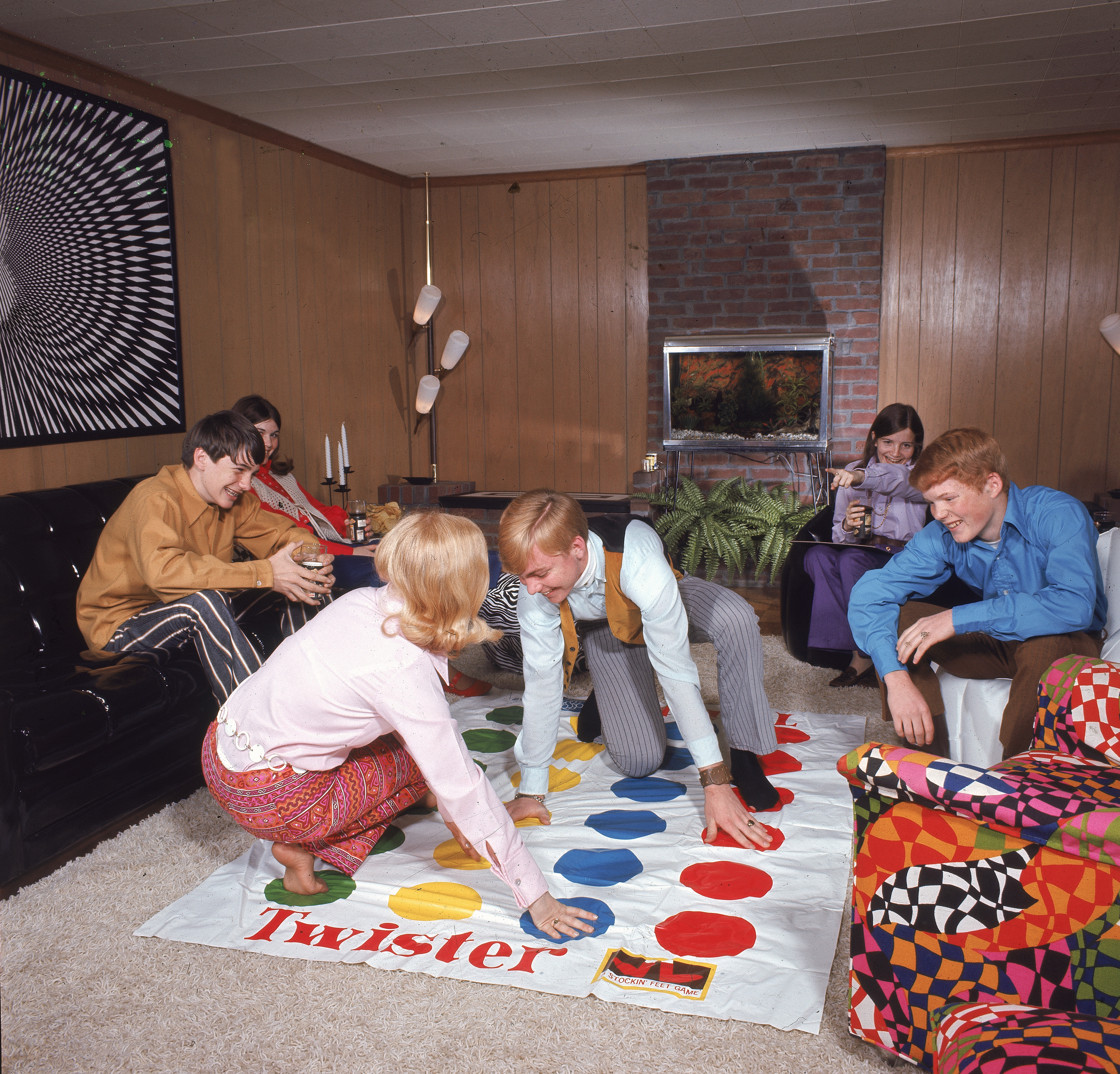 Twister As A Drinking Game