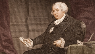 Engraved portrait of Gouverneur Morris. (Credit: Stock Montdage/Getty Images)