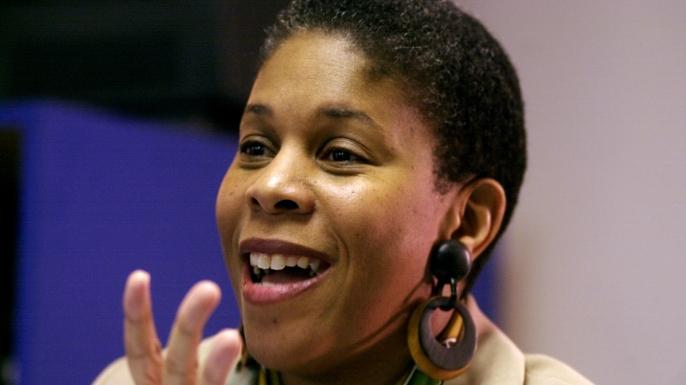 Lenora Fulani.  (Credit: Jon Naso/NY Daily News Archive/Getty Images)