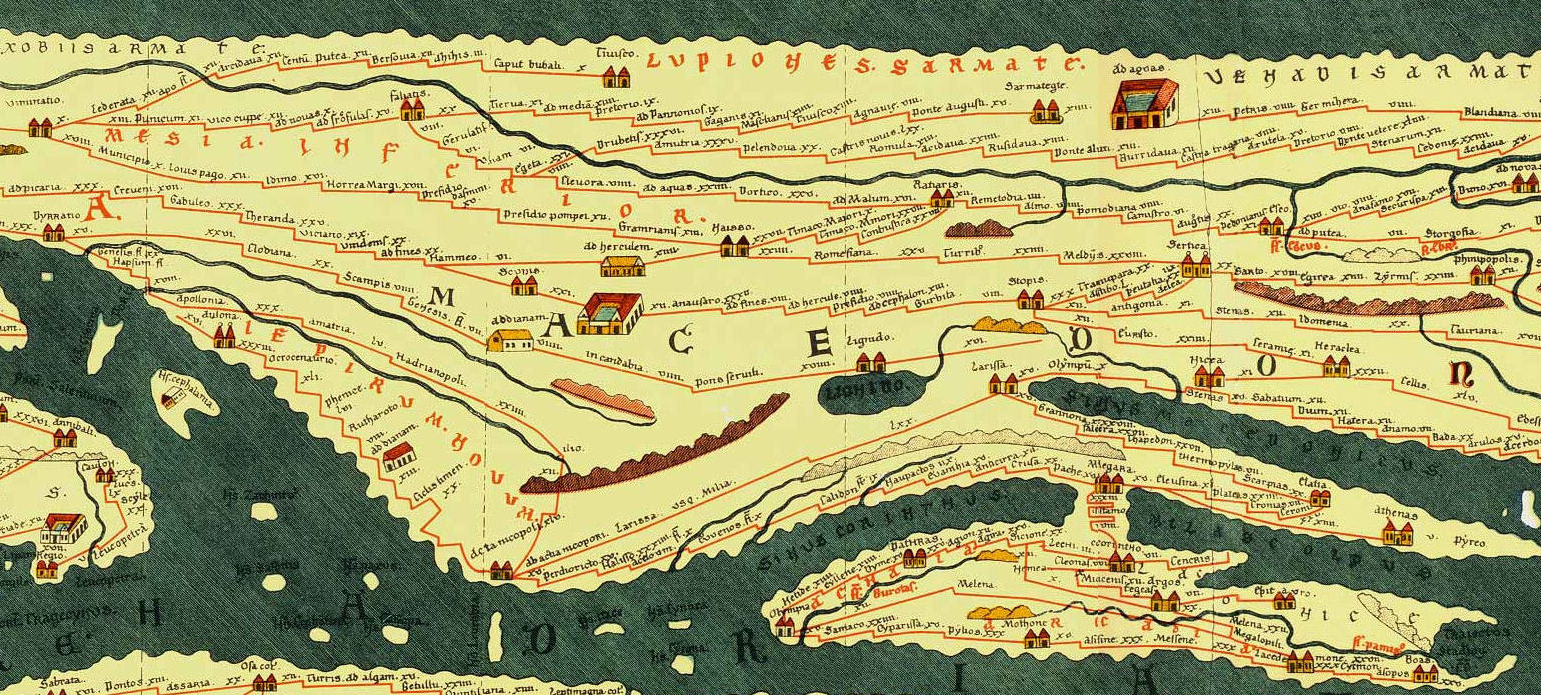 8 remarkable early maps history lists the peutinger map credit public domain gumiabroncs Image collections