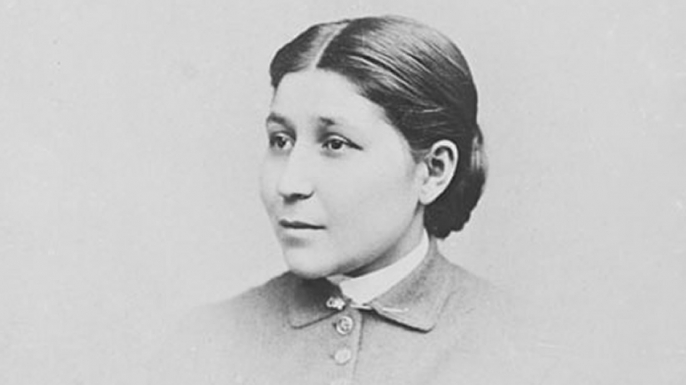Susan LaFlesche (Credit: Smithsonian National Anthropological Archives)