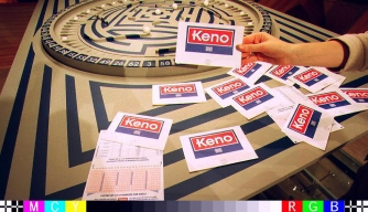 "The popular gambling game dubbed ""Keno"" which was launched in France. (Credit: JEAN-LOUP GAUTREAU/AFP/Getty Images)"